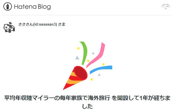 ブログ1周年!!皆さま本当にありがとうございます!始めてから今日までの軌跡。