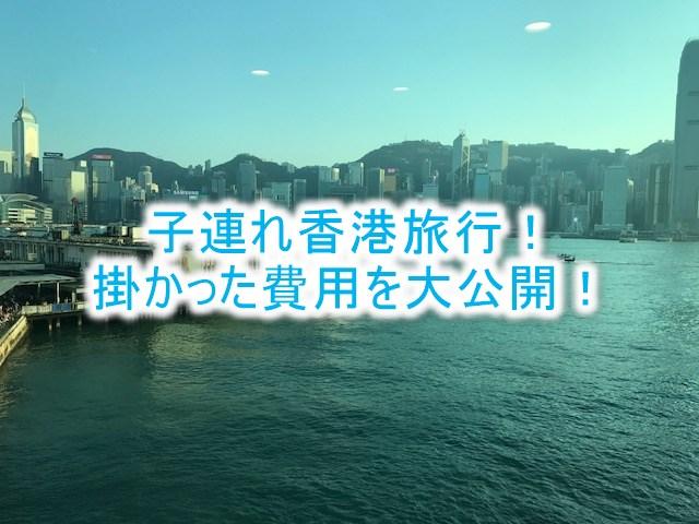 子連れ家族で香港旅行。気になる滞在費、旅費のまとめ!陸マイラーの激安裏ワザテクニック!