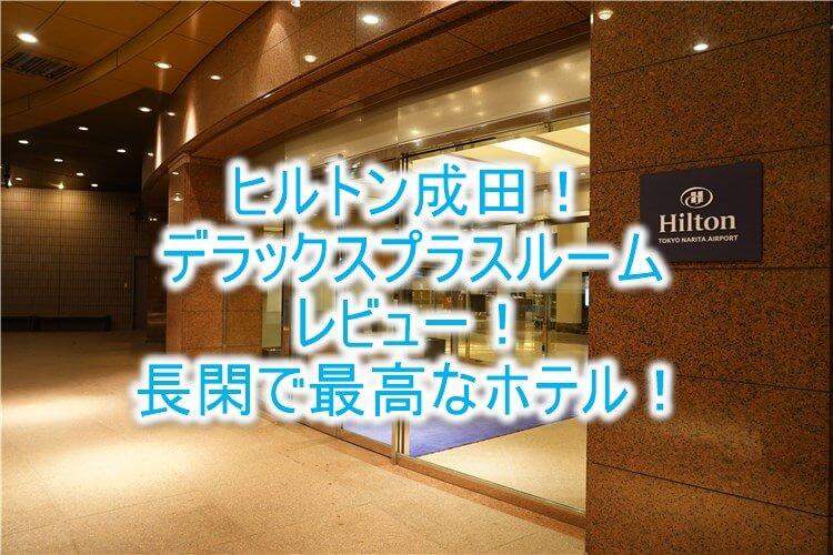 ヒルトン成田、ブログ宿泊記!デラックスプラスルームレビュー!長閑で優雅なホテル!