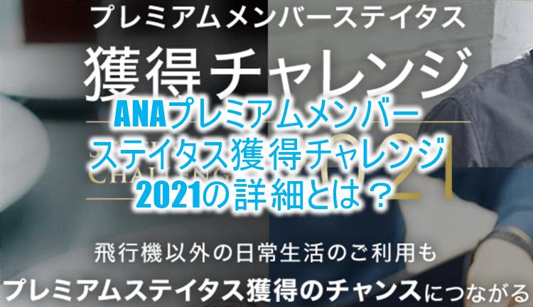 2021年版!ANA上級会員ステイタスのキャンペーンの詳細、条件のまとめ!これ本当に得なのか?