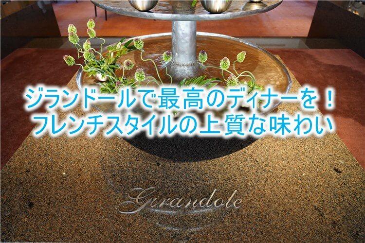 ジランドールのディナーが最高だった!パークハイアット東京でフレンチスタイルを楽しむ!!