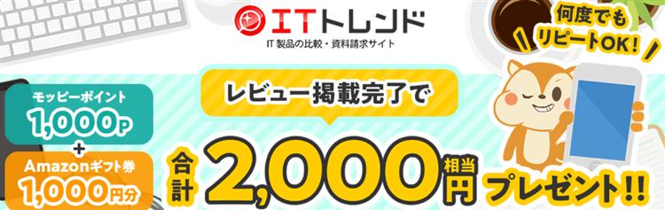 2021年も超爆益案件!1回のレビューで1,000PとAmazonギフト券1,000円!【何度でも回答OK】